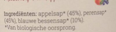 Het sapgilde - Ingredients - nl