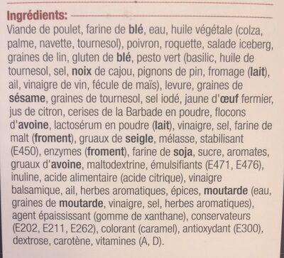 Sandwich au poulet grillé - Ingredienti - fr