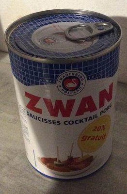 Zwan saucisses cocktail porc - Produit