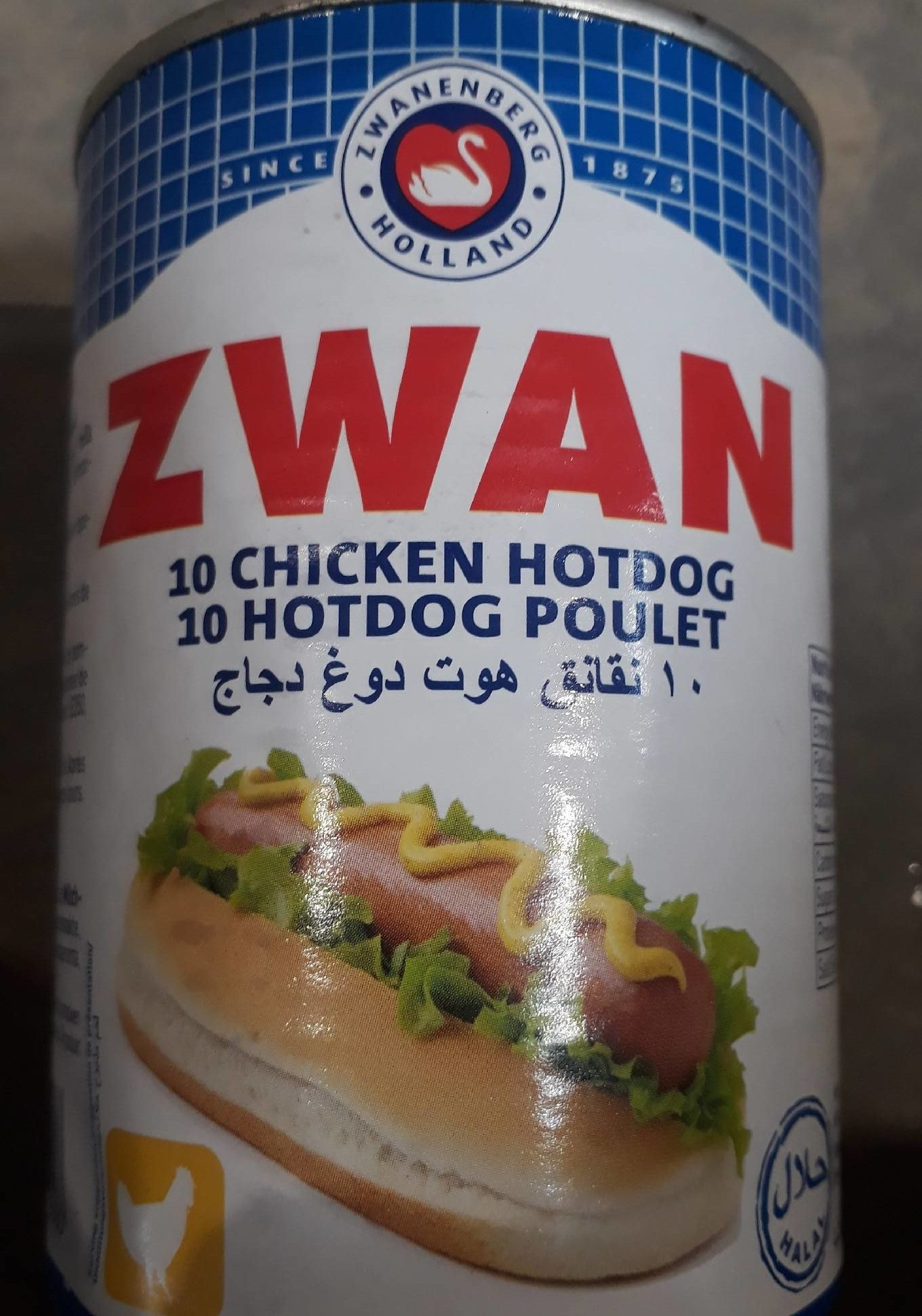 10 Hot Dog Poulet - Produit