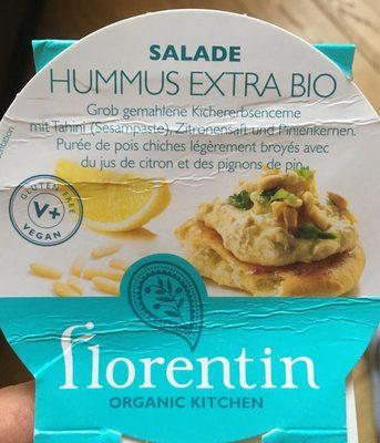 Hummus extra bio - Nutrition facts - fr