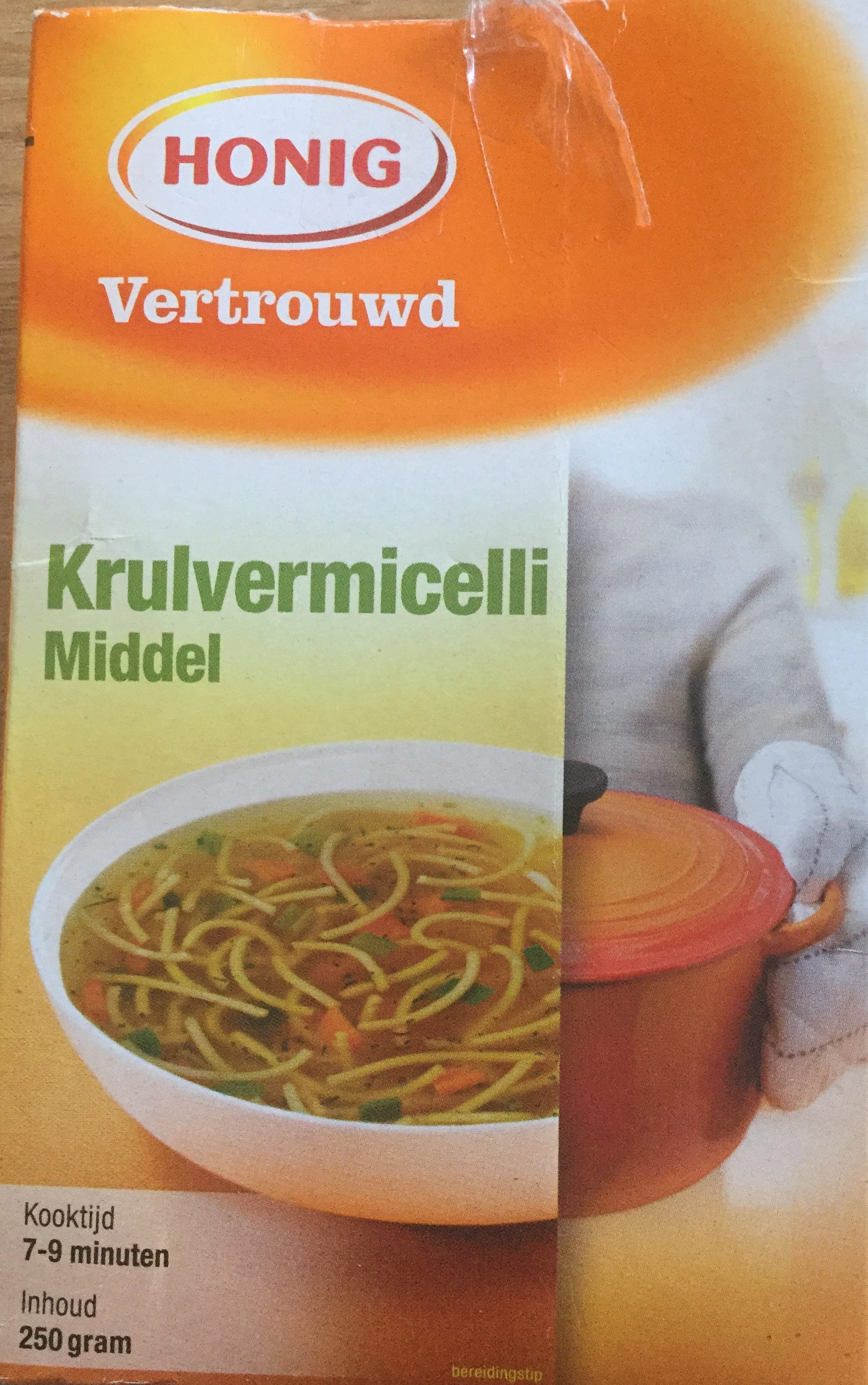 Krulvermicelli middel - Product