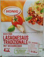 Basis voor Lasagnesaus Tradizionale met Bechamelsaus - Product - nl