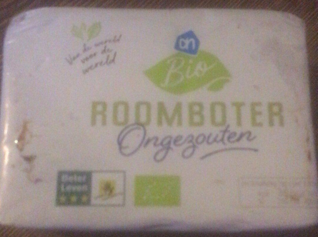 Bio roomboter ongezouten Ah - Product - en