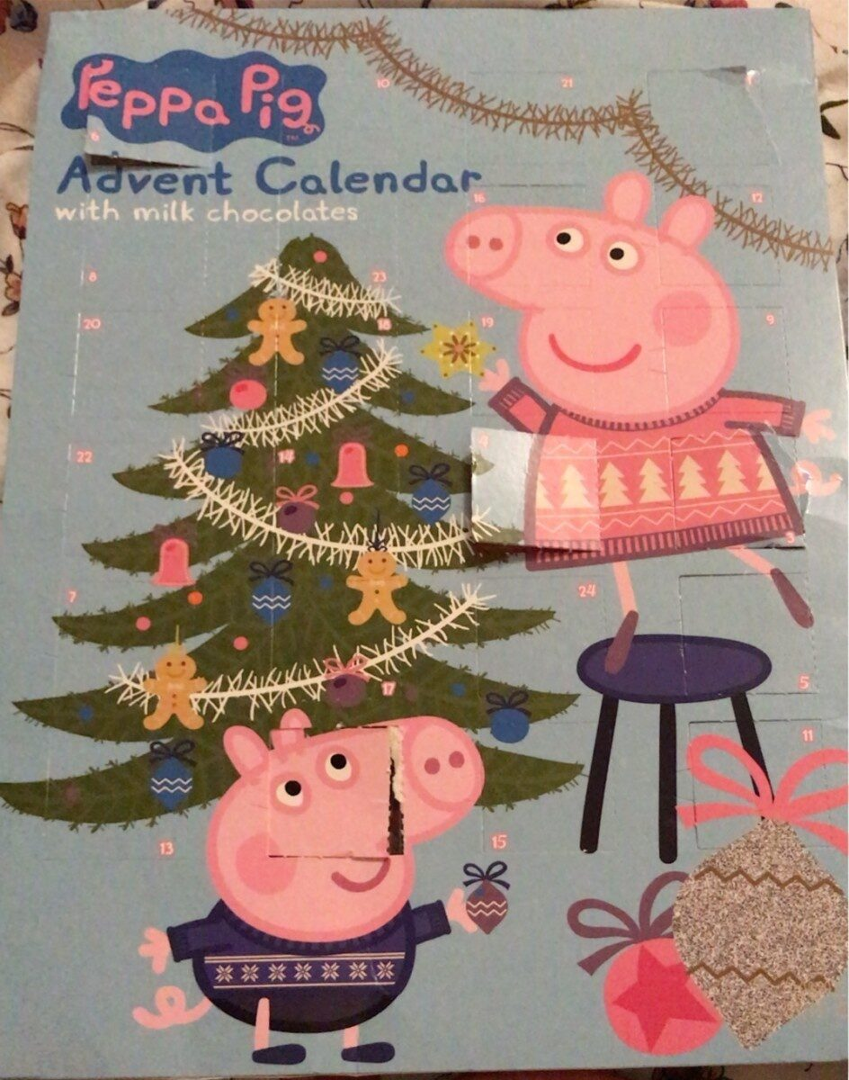 Calendrier de Peppa ping - Product - fr