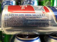 Bavaria alcohol-free beer 0.0% - Ingredients