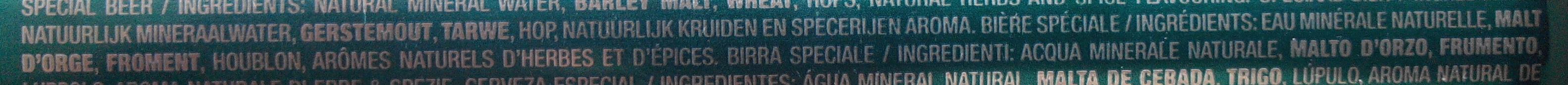 8.6 Absinthe - Ingredients - fr