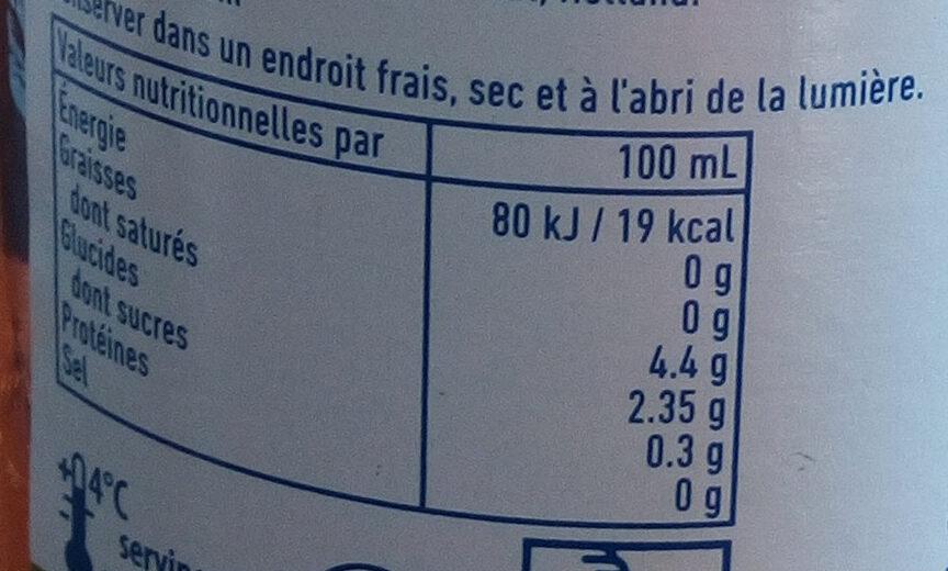 Bavaria Holland 0,0% IPA - Valori nutrizionali - fr