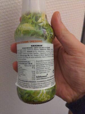 Sauce salade au sésame - Produit - fr