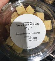 Cubes gouda cumin - Product - fr