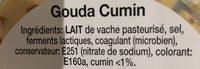 Cubes gouda cumin - Ingrediënten - fr