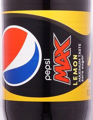 Pepsi Max Lemon - Product - nl