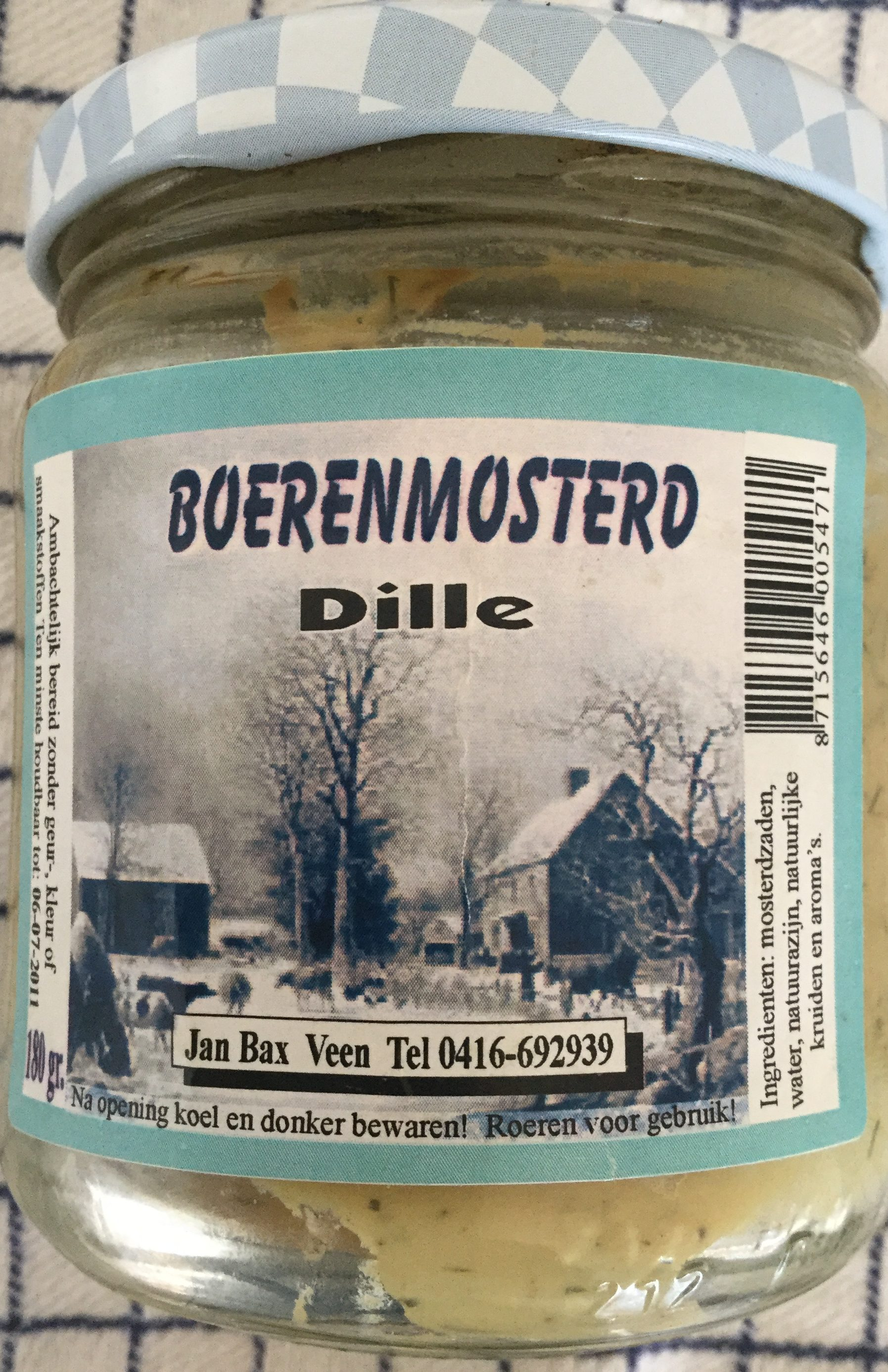 Boerenmosterd dille - Product
