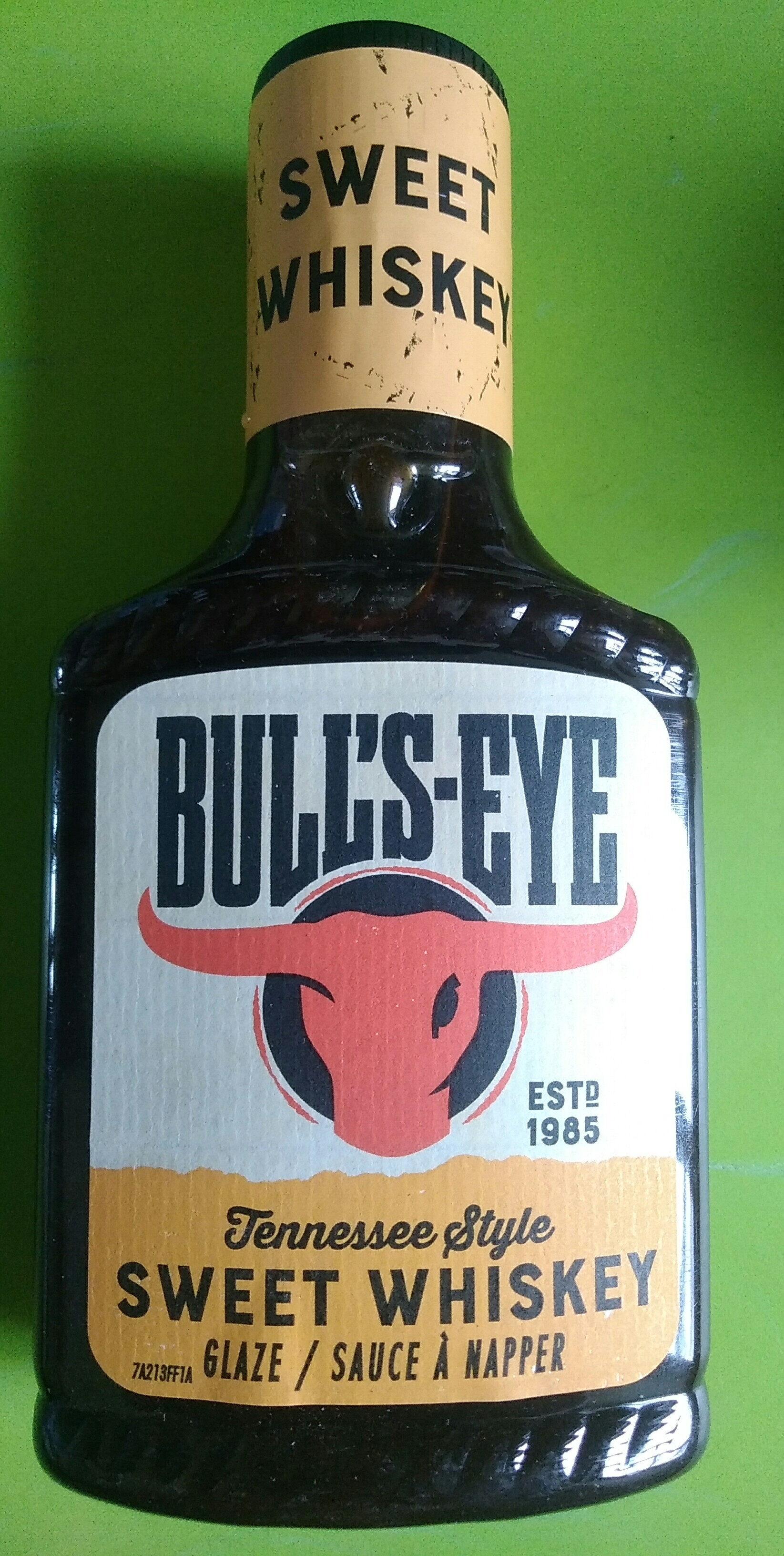 sauce à napper, bull's-eye, Sweet whiskey - Product - fr