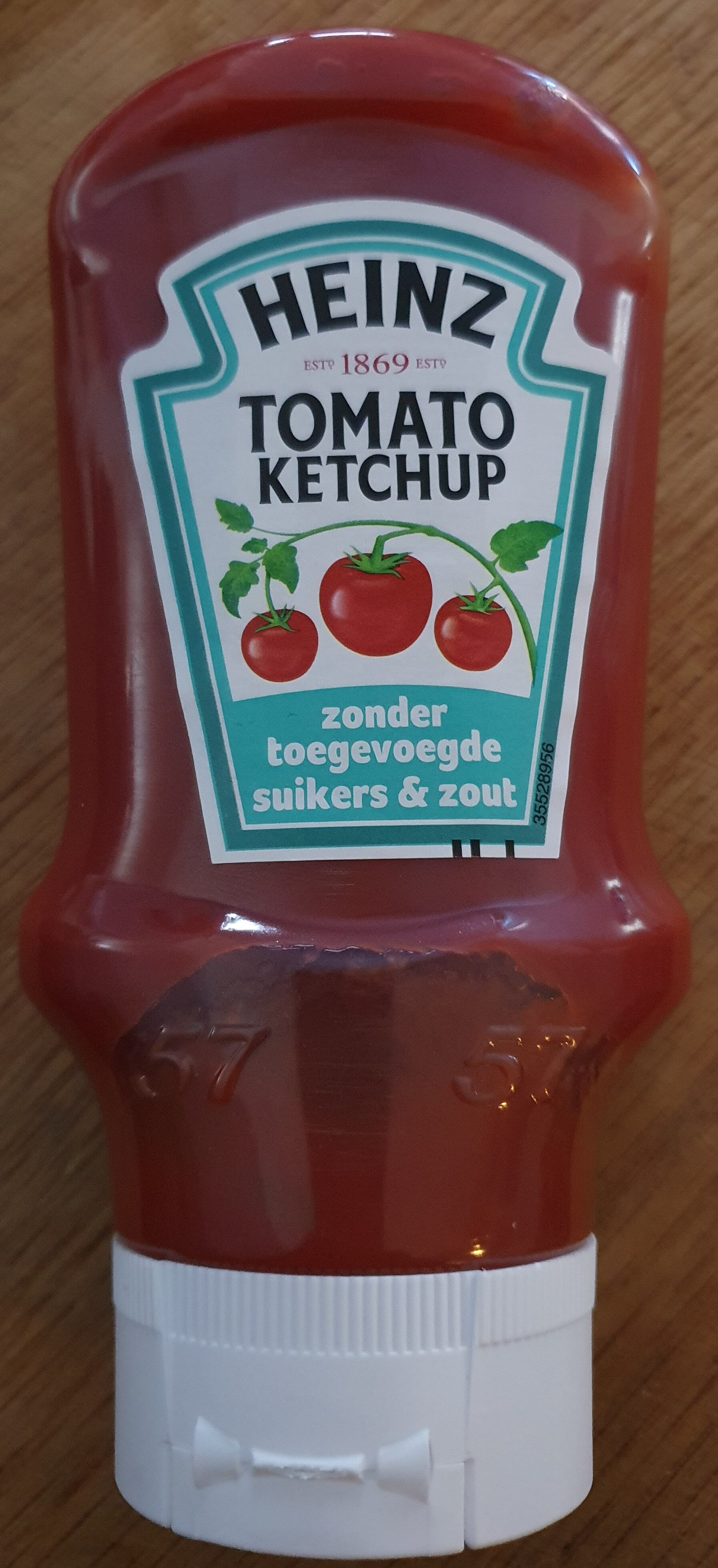 Tomato Ketchup, zonder toegevoegde suikers & zout - Product - nl