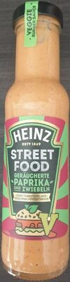 Street Food geräucherte Paprika und Zwiebeln - Produkt - de
