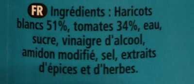 heinz tomato beans - Ingrédients - fr