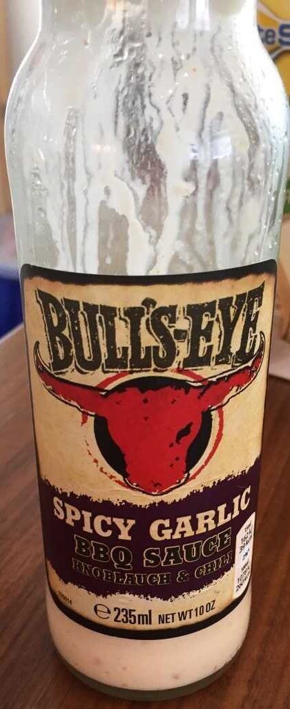 Bull's Eye Spicy Garlic Sauce - Product
