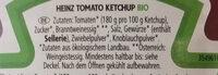 Tomato Ketchup BIO - Zutaten - de