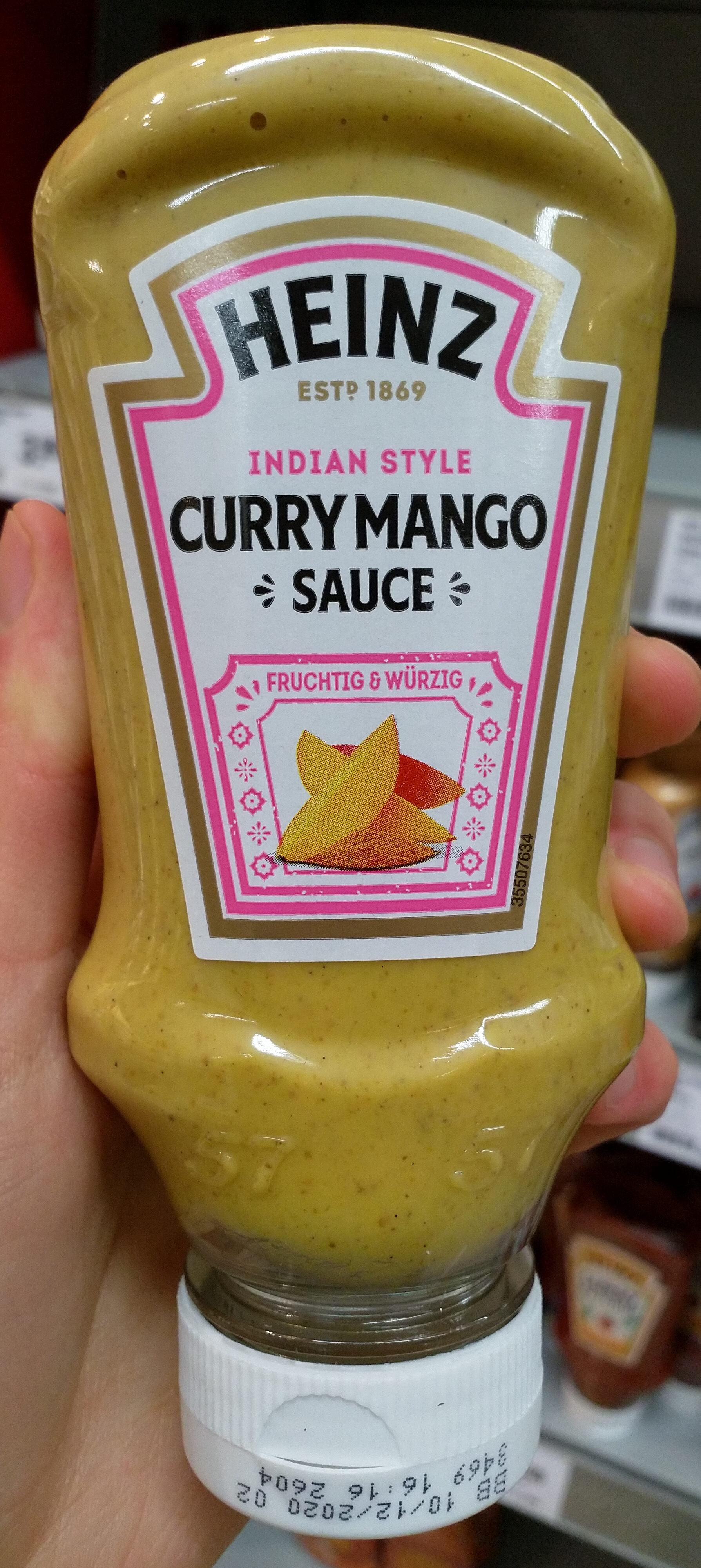 Sauce onctueuse à base de curry et mangues - Product - fr
