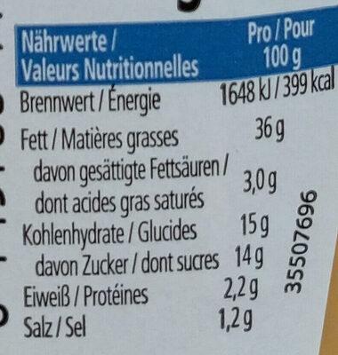 Heinz Sauce Cocktail - Informazioni nutrizionali - fr