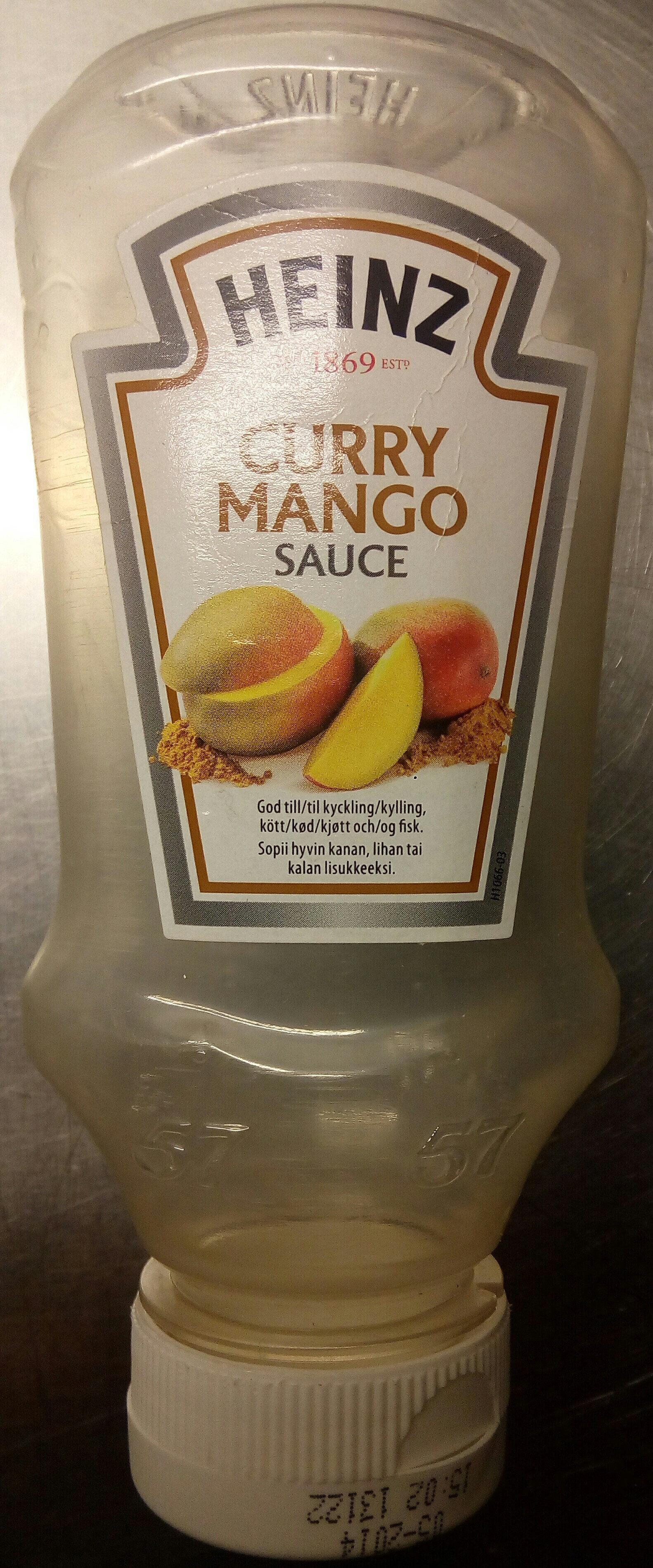 Curry Mango Sauce - Product - fi
