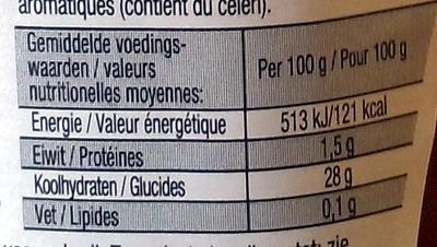 Tomato ketchup au vinaigre balsamique heinz 295 ml - Vinaigre balsamique calorie ...