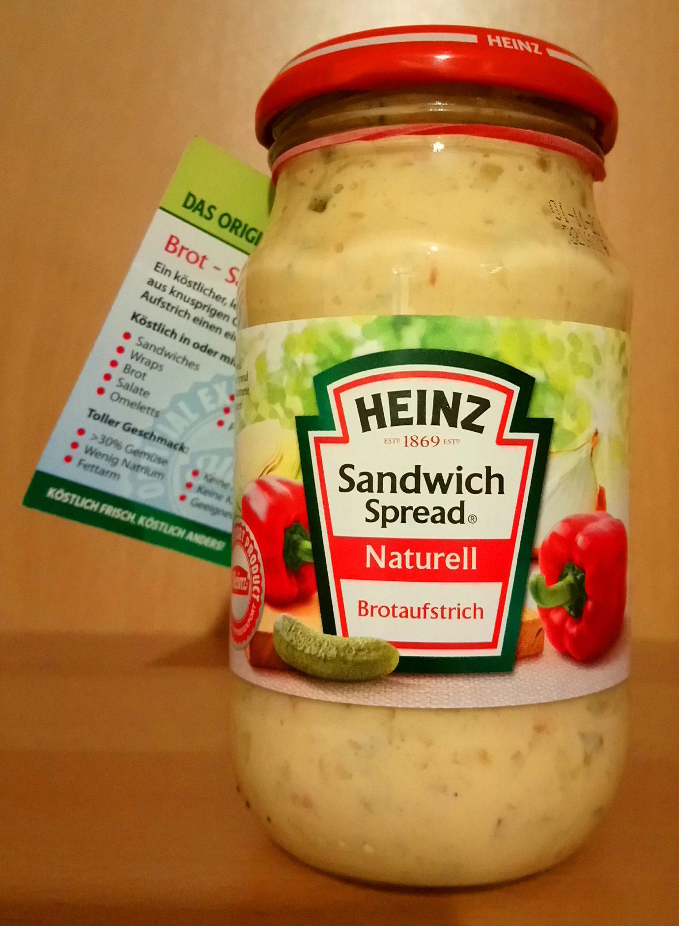 Sandwich Spread Naturell - Produit