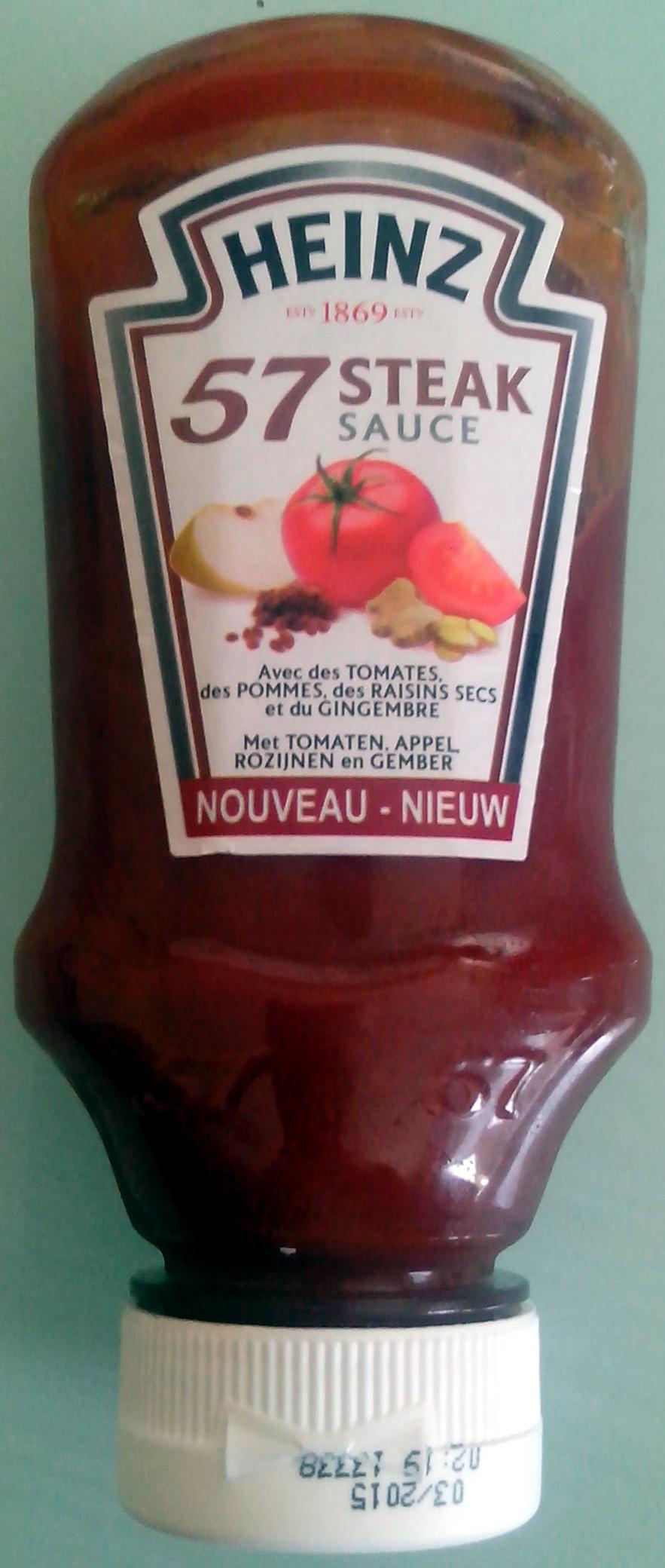 57 steak sauce - Product - fr