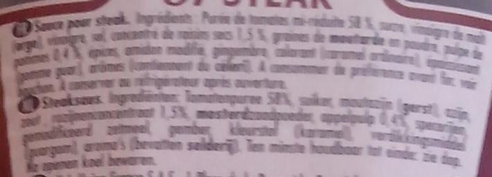 57 steak sauce - Ingrediënten - fr