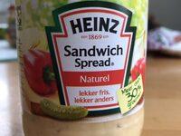 Heinz Sandwich Spread naturel - Product - nl
