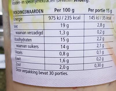 Sandwich Spread , Naturel - Product - en