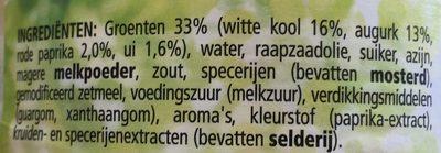 Sandwich Spread , Naturel - Ingredients - en