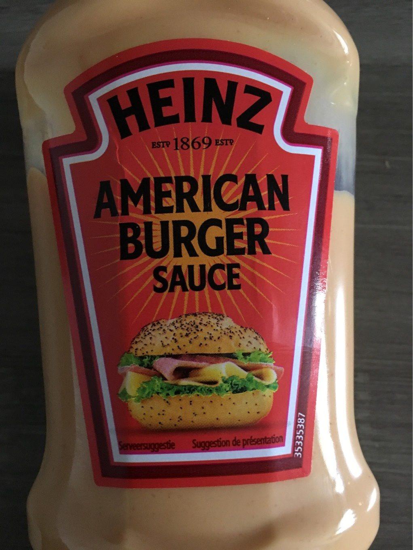 American Burger Sauce - Produit - fr