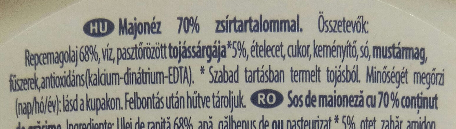Seriously good mayonnaise - Ingredients - hu