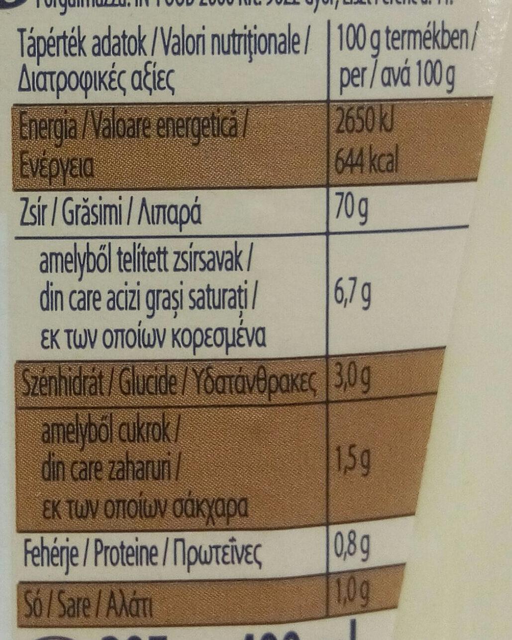 Seriously good mayonnaise - Nutrition facts - hu