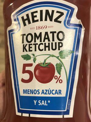 Tomato ketchup 50% menos azúcar - Produto - es