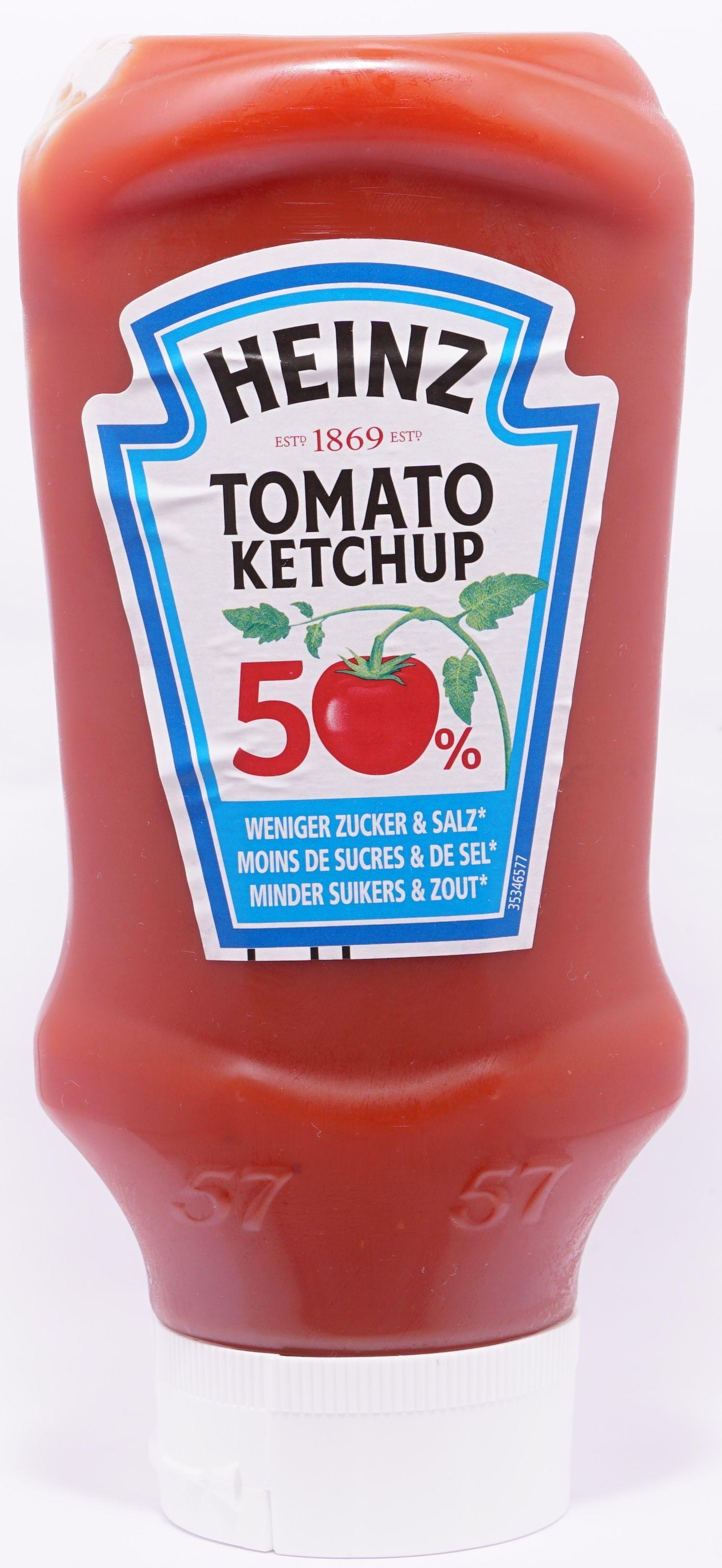 Tomato Ketchup 50% moins de sucres & de sel - Produkt - de