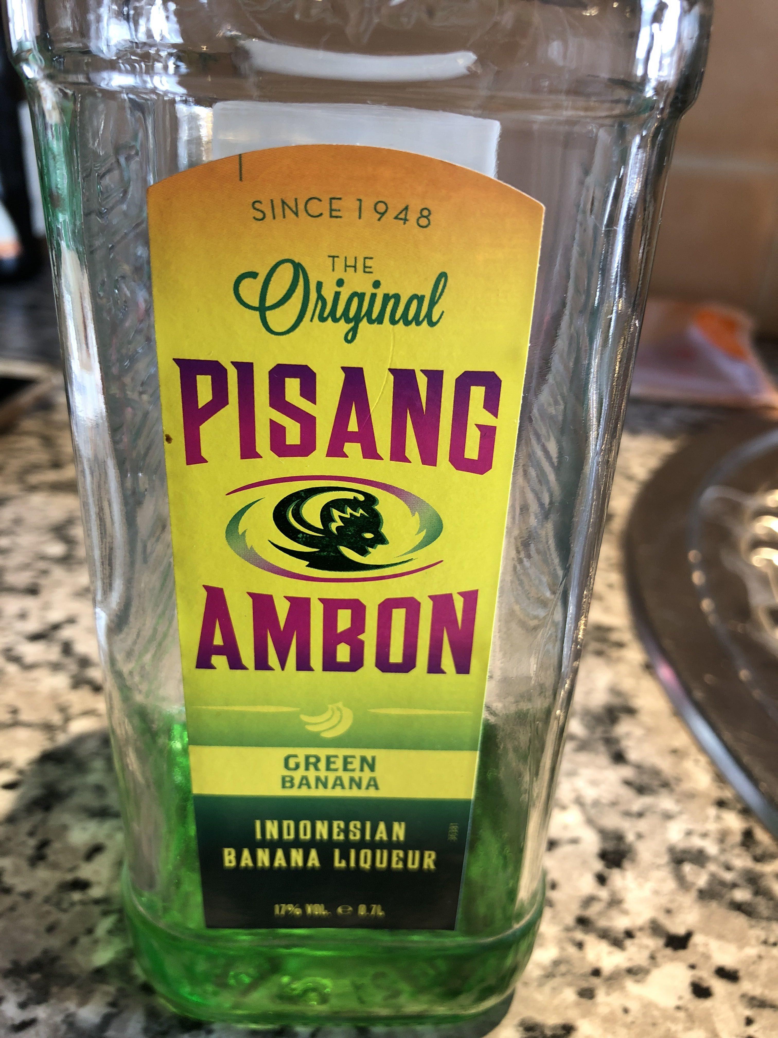 Pisang Ambon 20% 70 CL Fles - Product - fr