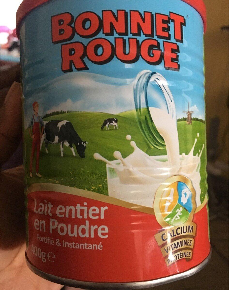 Bonnet rouge lait entier en poudre - Produit - fr