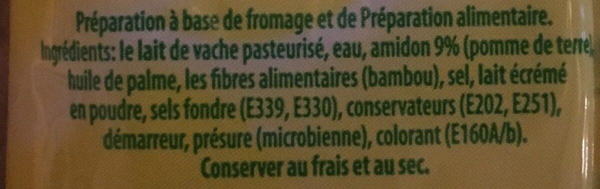 Parmesan ForGio 40g - Ingrédients - fr