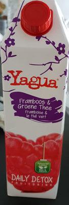 Yagua Framboise et thé vert - Product