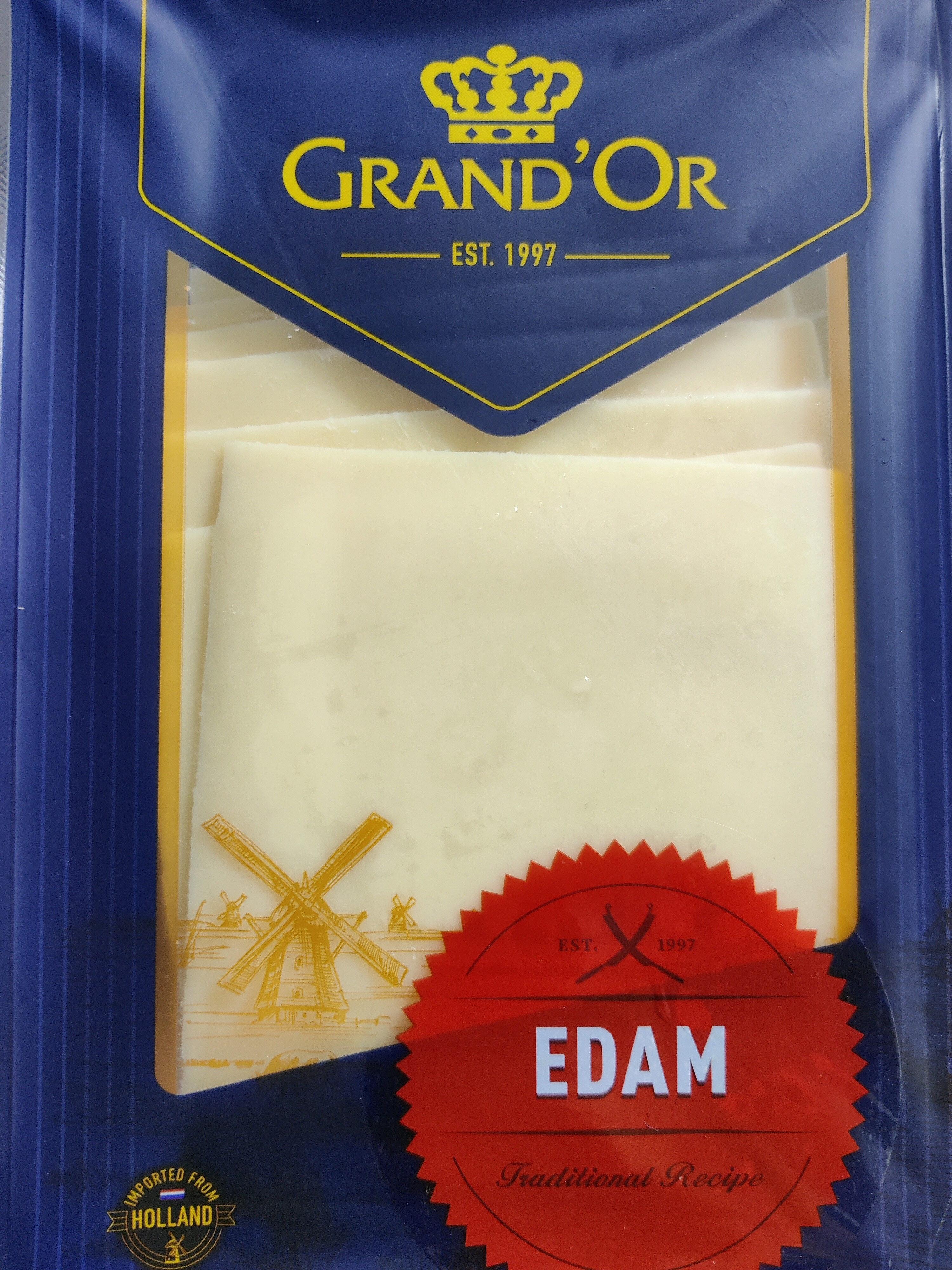Edam Cheese Sliced - 产品 - en