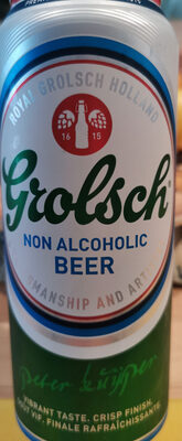 Grolsch non Alcoholic BEER - Product - en