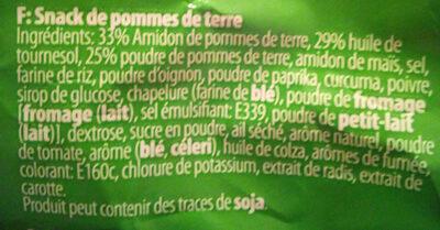 Mixed sticks & rings - Ingredients - fr