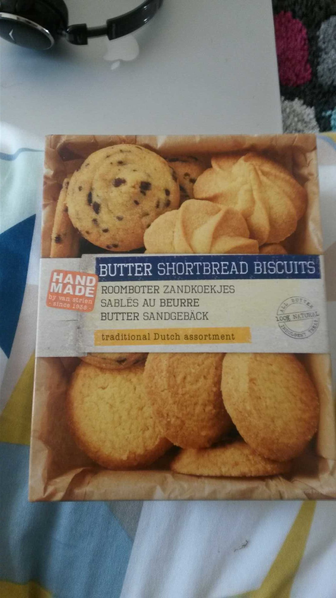butter shortbread biscuits - Product