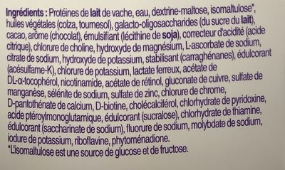 DiaCare - Ingrédients - fr