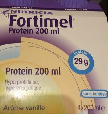Fortimel Protein arôme vanille - Produit - fr