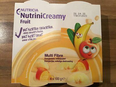 Nutricia NutriniCreamy Fruit - Produkt - de