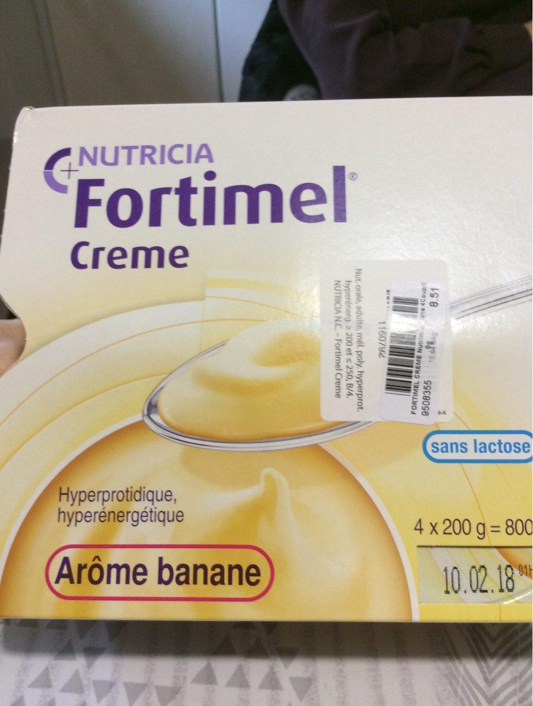 Fortimel Creme hyperproteine - Produit - fr